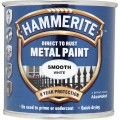 Image for Hammerite Smooth White 250Ml