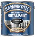 Image for Hammerite Smooth Black 2.5L