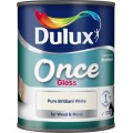 Image for Dulux Retail Once Gloss Pbw 750Ml