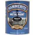 Image for Hammerite Smooth Black 5L