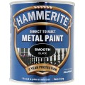 Image for Hammerite Smooth Black 750Ml