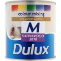 Image for Dulux Retail Col/Mix Satinwood Medium Bs 500Ml