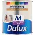 Image for Dulux Retail Col/Mix Satinwood Medium Bs 1L