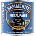 Image for Hammerite Smooth Black 250Ml